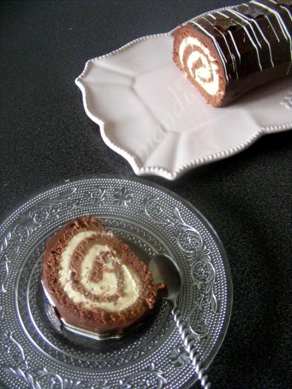 Biscuit buche chocolat